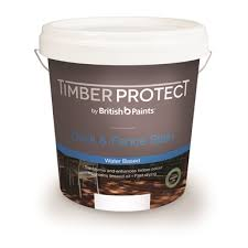 Timber Protect 10l Light Brown Water Based Deck Fence Stain
