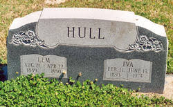 Iva Lawson Hull (1893-1974) - Find A Grave Memorial