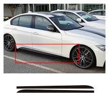 Wholesale 215cm Carbon Fiber Sticker Side Skirt Car Decal For Bmw E90 E92 E39 F10 F30 F31 From China