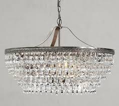 clarissa crystal drop round chandelier