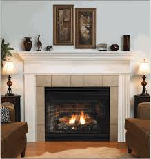 deluxe b vent louvered gas fireplace