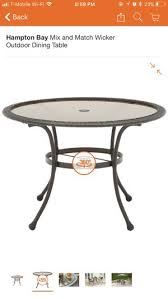 woven wrap glass dining table