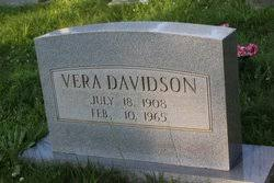 Addie Vera Davidson (1908-1965) - Find A Grave Memorial