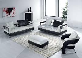 white leather ultra modern 4pc