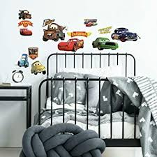 Amazon Com Roommates Rmk1520scs Disney Pixar Cars Piston Cup Champs Peel And Stick Wall Decals Home Improvement