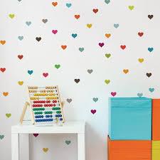 Adzif Little Hearts Kids Wall Decal 2 Sheets Fm033 Ajv5 The Home Depot