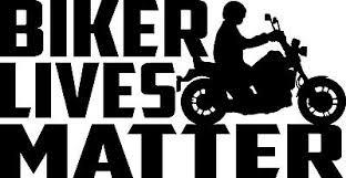 Biker Lives Matter Decal Window Bumper Sticker Car Motorcycle Safety Look Twice Ebay