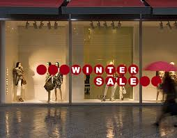 Winter Sale Window Decal Spark Bdm
