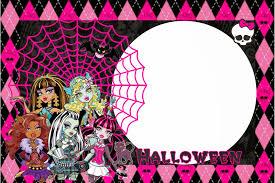 Kit De Monster High Especial Halloween Para Imprimir Gratis Con