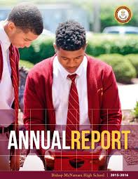 BMHS Annual Report 2015-2016 by Bishop McNamara High School - issuu