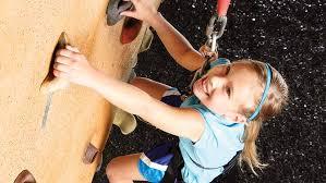 kids indoor rockwall climbing life