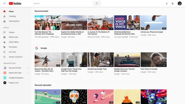 "YouTube Homepage Changed: Here Are The Full Details ile ilgili görsel sonucu"""