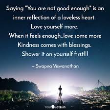"""Saying """"You are not good ... 