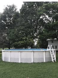 How To Make An Above Ground Pool Look Nice Paint It Yourself