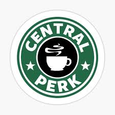 Central Perk Stickers Redbubble