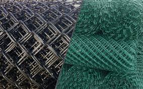 Color Coated Chain Link Fence Fittings Manufacturers Aruvil