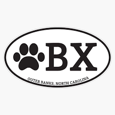 Amazon Com Obx Dog Paw North Carolina Vinyl Waterproof Sticker Decal Car Laptop Wall Window Bumper Sticker 5 Automotive