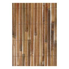Bamboo Slat Screening Natural Screening Garden Health