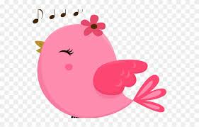 Fence Clipart Cute Pink Bird Background Transparent Clipart Png 3540873 Pinclipart