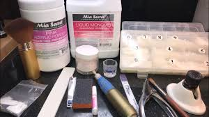 acrylic nails for beginners supplies