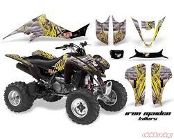 Amr Racing Graphics Kit Decal Sticker Wrap Im Killers Kawasaki Kfx400 03 08