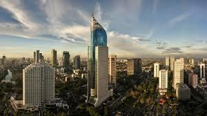 jakarta indonesia skyline wallpaper hd