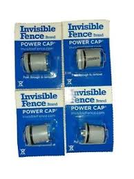 4 Invisible Fence Brand Replacement Batteries For Powercap Dog Collar 3v 160mah Ebay