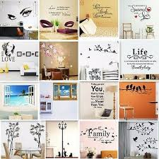 Vinyl Home Room Decor Art Quote Wall Decal Stickers Bedroom Removable Mural Diy 5 99 Picclick
