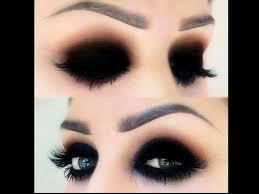 flaunt the grunge black eye shadow look