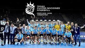 San Juan recibirá al Cuatro Naciones de Handball en el Aldo Cantoni