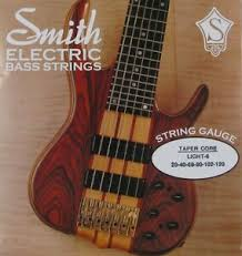 KEN SMITH TCRL-6 TAPER CORE STEEL BASS STRINGS, LIGHT GAUGE 6's ...
