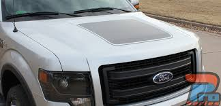 Hood Stripe Kits For Ford Trucks F150 15 Force Hood 2009 2014 Digital Print