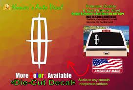 Emblem Car Lincoln Truck Suv Car Window Vinyl Decal Bumper Sticker Navigator Ebay