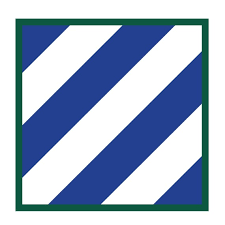 Us Army 3rd Infantry Division Ssi Patch Decal Full Color Etsy