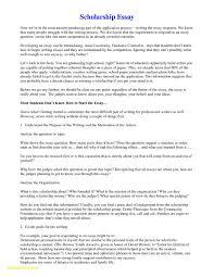 scholarship essay writing help exle