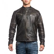 leather jacket affliction ghost rider