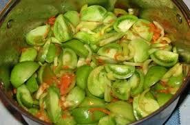 Салаты из зеленых помидоров на зиму рецепты