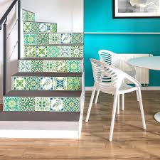 Walplus Peel And Stick Tile Sticker Turkish Green Mosaic Wall Sticker Decal Wall Decoration Diy Art Size 6 In X 6 In 24pcs Walmart Com Walmart Com