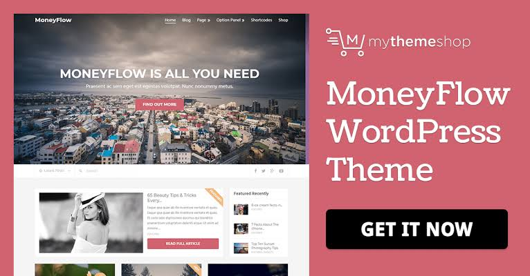 MyThemeShop MoneyFlow WordPress Theme