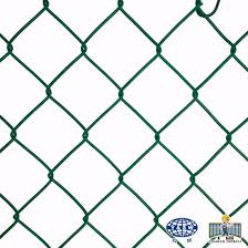 China Supplier Galvanized Pvc Coated Chain Link Diamond Fence Chicken Mesh Manufacture China Chain Link Fence Panels Pvc Fence