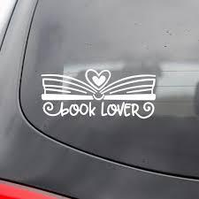 Book Lover Vinyl Decal I Heart Books Vinyl Decal I Love Etsy