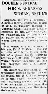 Mrs. Addie Walker obituary - Newspapers.com