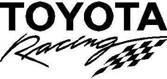 Toyota Racing Decal Sticker 03