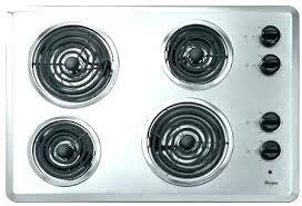 electric stove black range glass