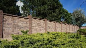 Concrete Block Fence Types Of Fences