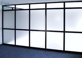 aluminium frame partition walls