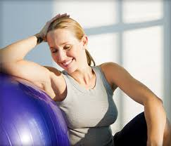 reshape your body with an exercise ball