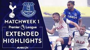 Tottenham v. Everton | PREMIER LEAGUE HIGHLIGHTS | 9/13/2020