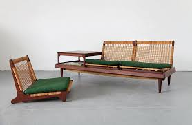 modular teak daybed and table adore