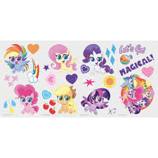 Zoomie Kids My Little Pony Let S Get Magical Wall Decal Wayfair